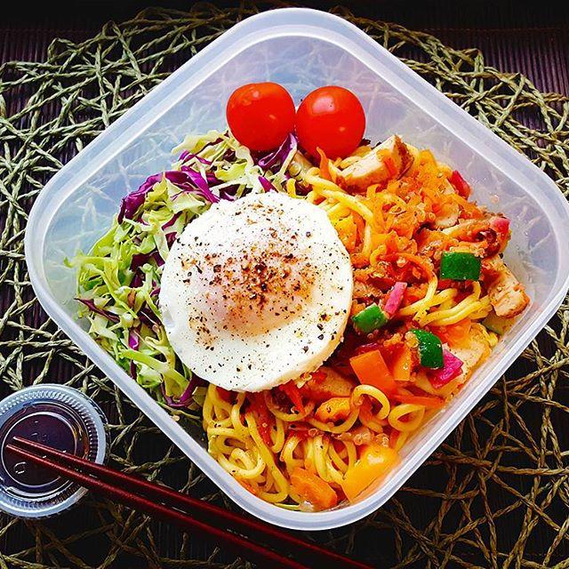 タッパーのお弁当でおしゃれなレシピ☆主食13