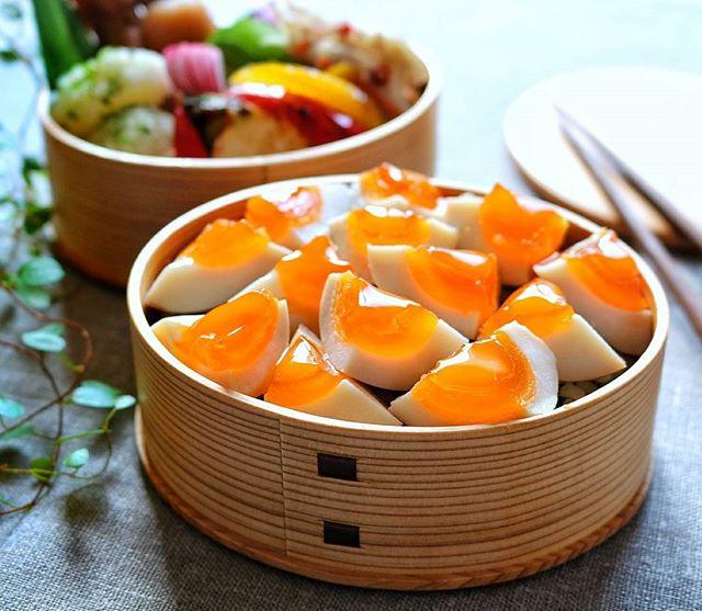 卵たっぷり!人気の味玉丼弁当
