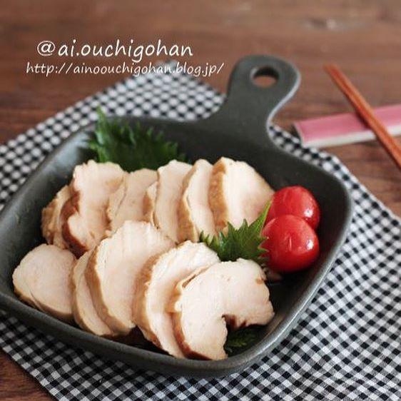 簡単レンジ調理!鶏チャーシュー