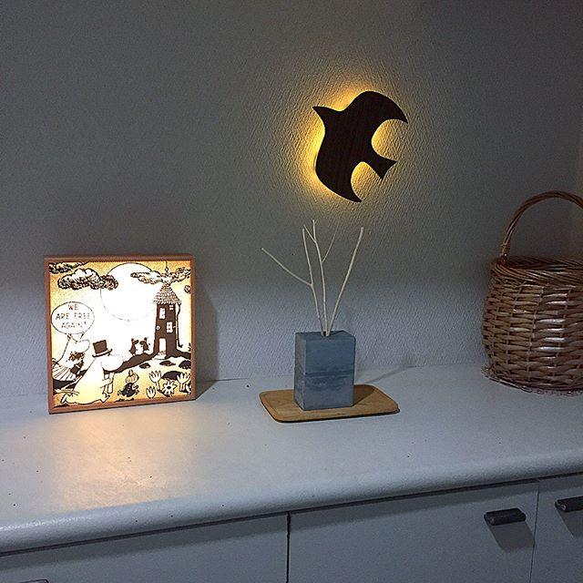 おしゃれなインテリア照明を使うアイデア実例