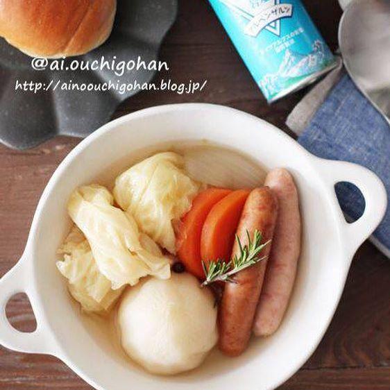 寝る前にお腹がすいた時のレシピ【汁物系】3