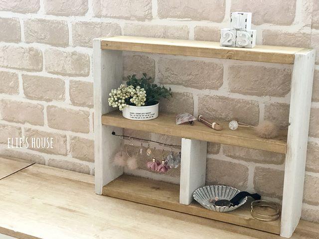 木材とワイヤーで棚を作る方法