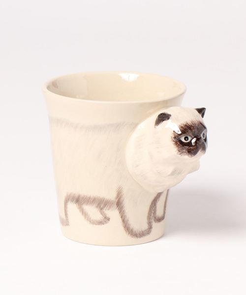 [ADAM ET ROPE'] 立体アニマルマグカップ