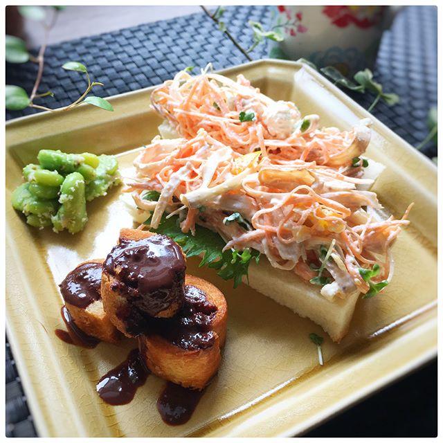 オープンサンドのおしゃれレシピ☆朝食6