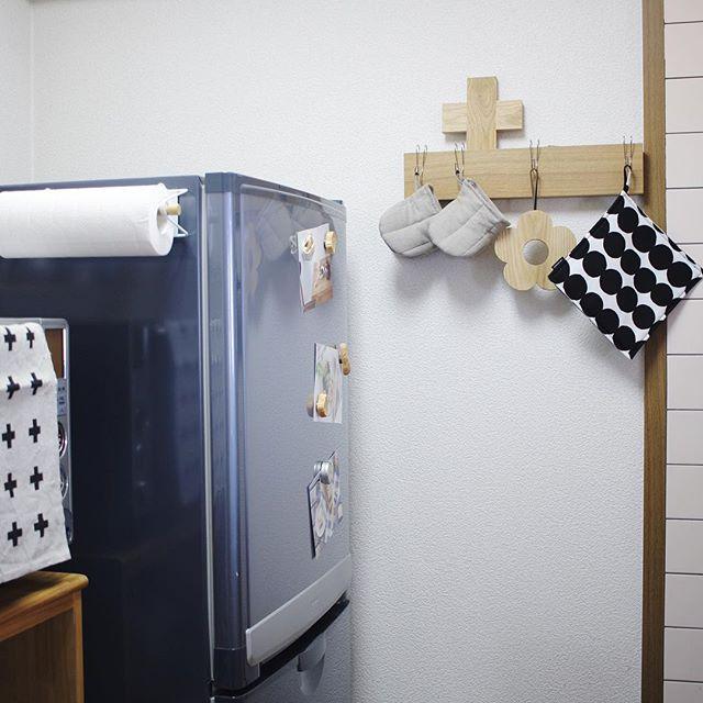 北欧テキスタイル活用例《キッチン》