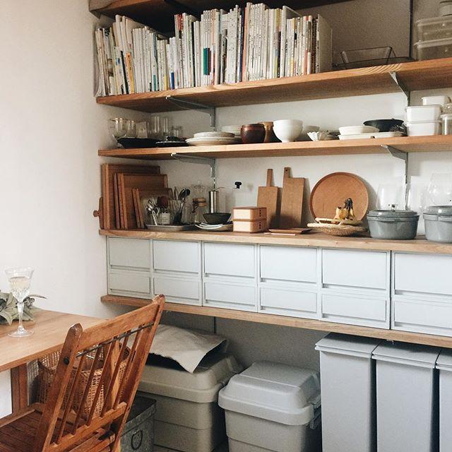 壁面棚の簡単DIYアイデア《可動棚》5