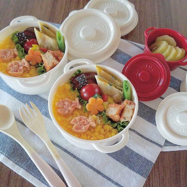 タッパーのお弁当でおしゃれなレシピ☆主食