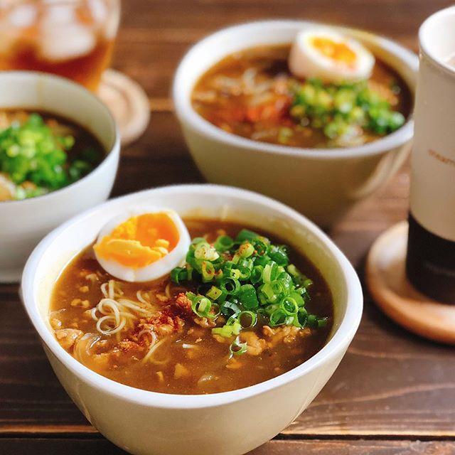 自宅で簡単!ぶっかけカレー素麺
