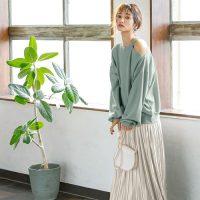ロングプリーツスカートの秋コーデ【2020】トレンドの着こなしをチェック♪
