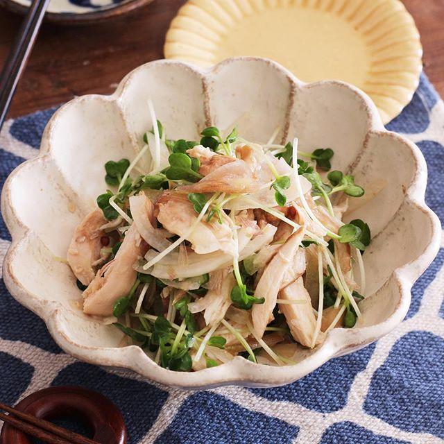 高タンパク質メニュー!鶏チャーシューサラダ