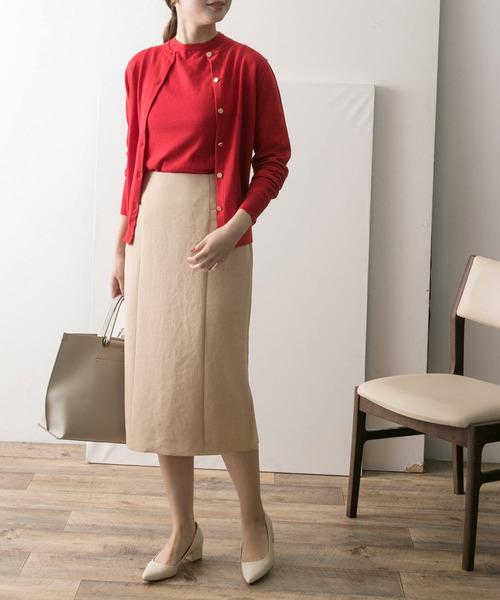 [URBAN RESEARCH] ウォッシャブルレーヨンオックスタイトスカート