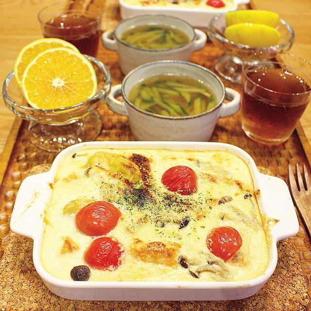 ダイエット中の節約レシピ!ヨーグルトグラタン