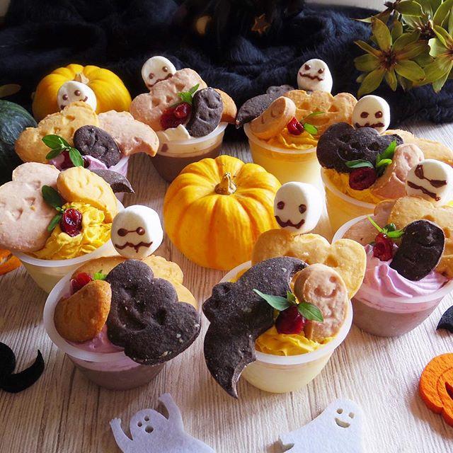 ハロウィンのお菓子☆手作りレシピ《冷たいスイーツ》5