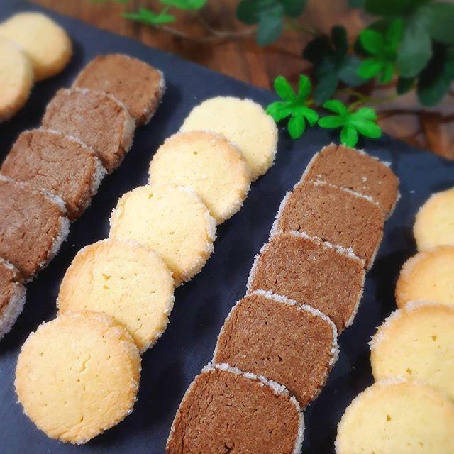 人気の簡単レシピ!ココアのディアマンクッキー