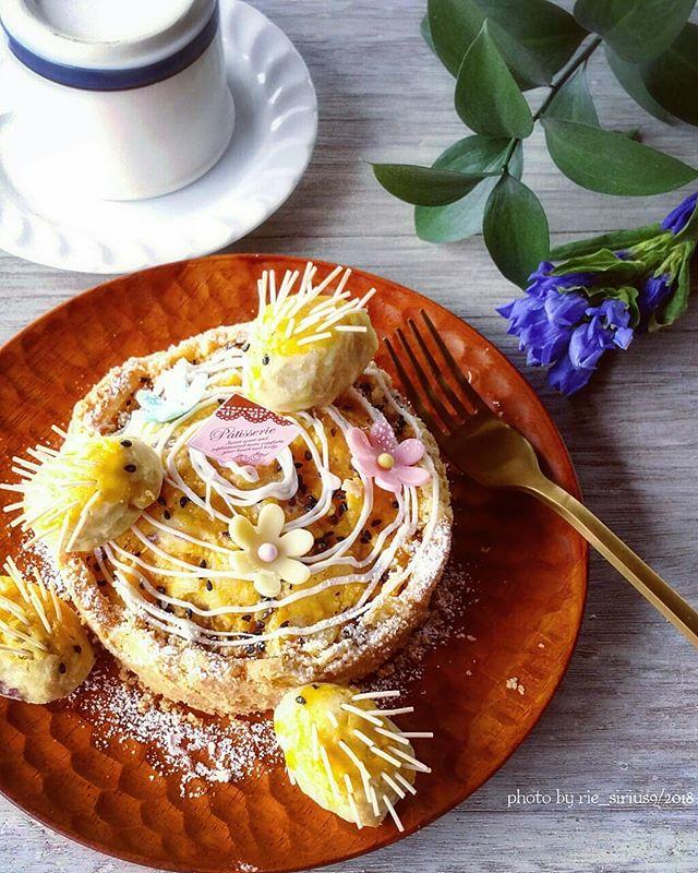 ハロウィンの可愛い手作りケーキ☆ホール9