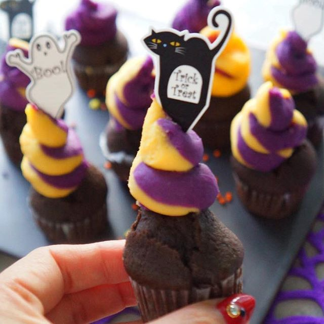 ハロウィンの可愛い手作りケーキ☆カップ系6