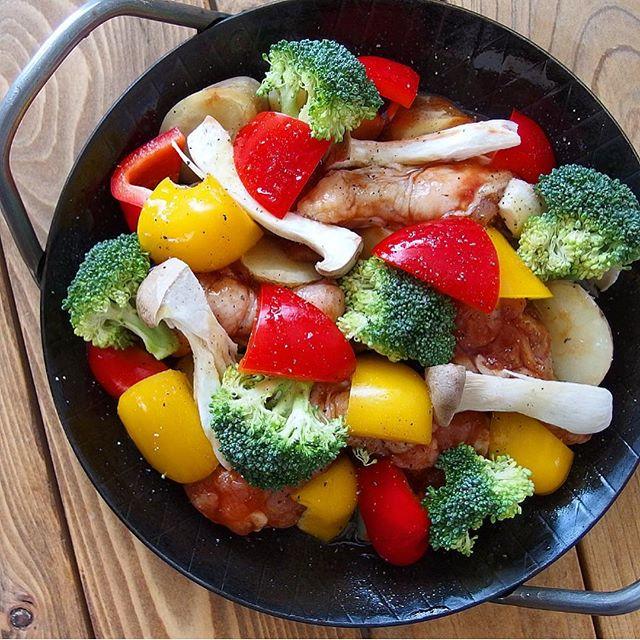 オーブンの活用法!鷄手羽元BBQソース焼き