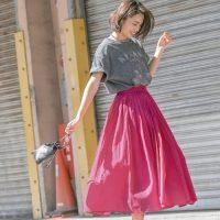 夏の「ピンク色アイテム」をピックアップ♡おすすめ旬コーデ15選