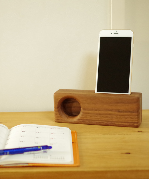 [THE BAREFOOT] Wood Speaker/ウッドスピーカー CUR
