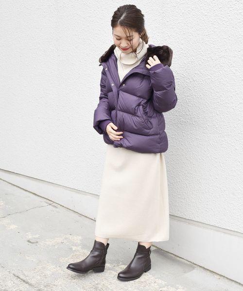 11月の北海道に相応しい服装【ワンピース】2