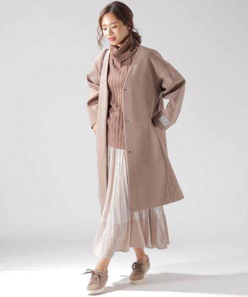 11月の北海道に相応しい服装【スカート】2