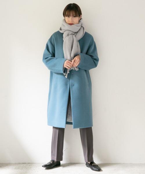 大阪|12月服装|グレーパンツコーデ