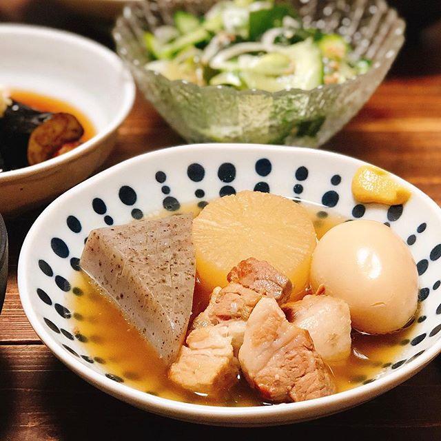 秋に人気の和食!肉料理に豚肉のおでん