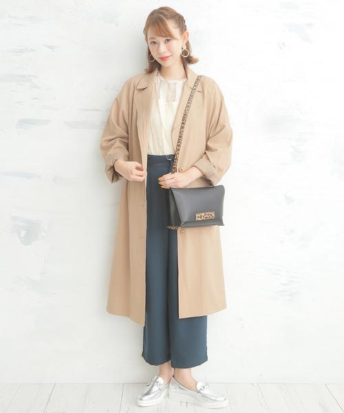 [BASE] 日本製 3.5cmヒール 厚底 ビット マニッシュ ローファー