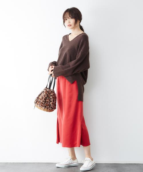 [Rouge vif la cle] 変形ペンシルスカート