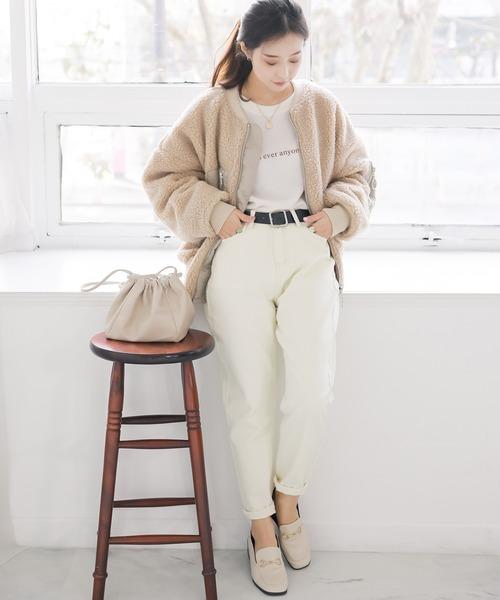 11月の北海道に相応しい服装【パンツ】
