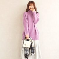 薄紫に合う色の組み合わせコーデ【2020秋冬】上品カラーをおしゃれに着こなそう♪