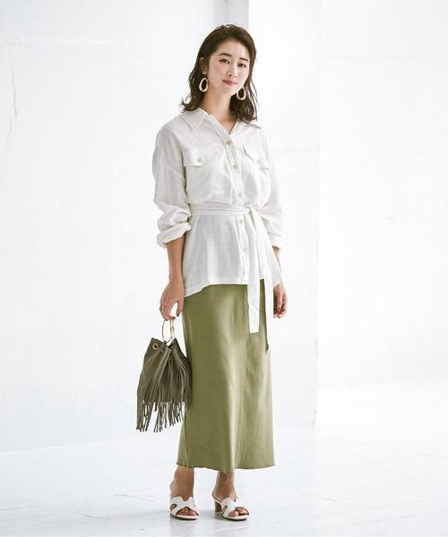 [ur's] リブナロースカート