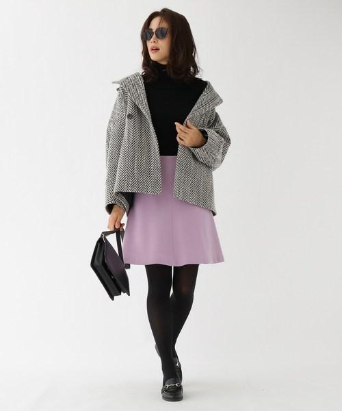 [aquagirl] フレアミニスカート