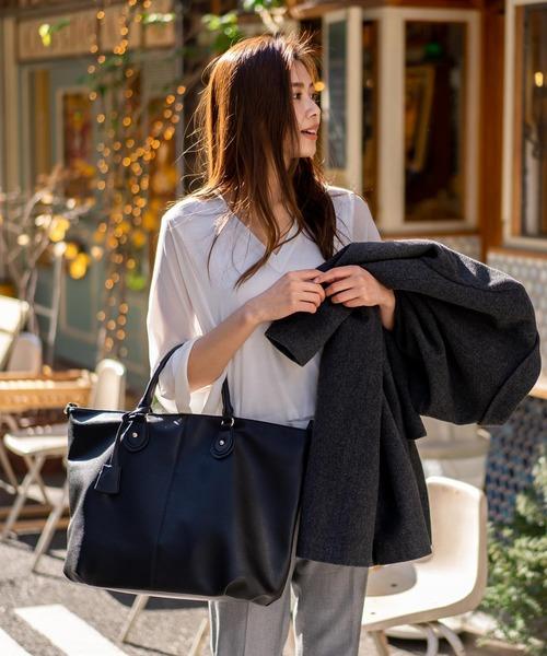 [VitaFelice] トートバッグ 2wayトートバッグ A4 ショルダーバッグ 斜め掛け 通勤通学バッグ