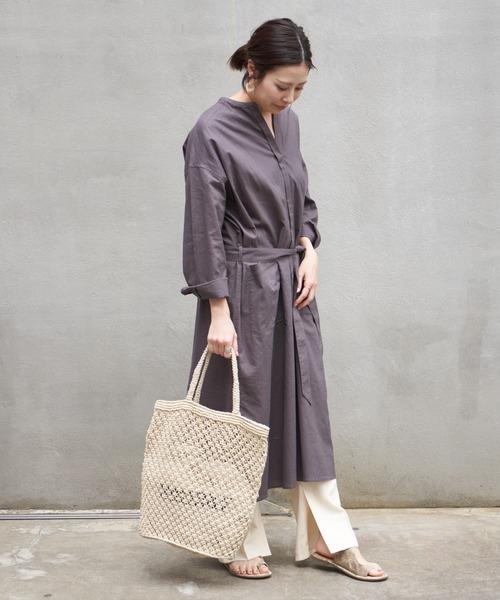 【11月中旬服装】ワンピースでリラックスコーデ