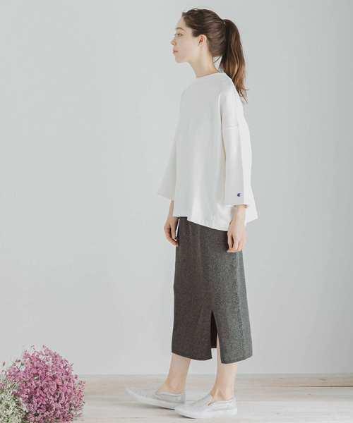 [SENSE OF PLACE by URBAN RESEARCH] メランジニットナロースカート