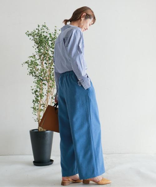 [NOMBRE IMPAIR] コットンブロード ロングシャツ