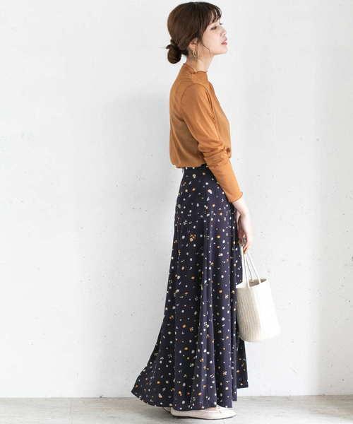 [URBAN RESEARCH ROSSO WOMEN] カラフル小花柄スカート