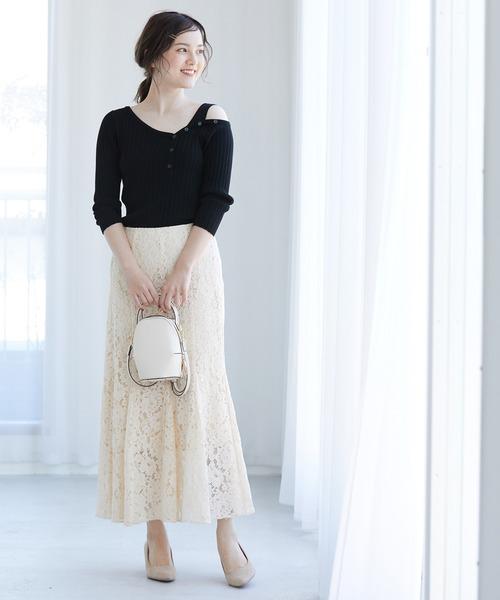 [ViS] レースマーメイドスカート