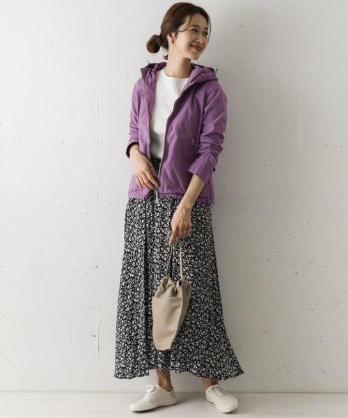 【11月中旬服装】パーカーで雨の日コーデ