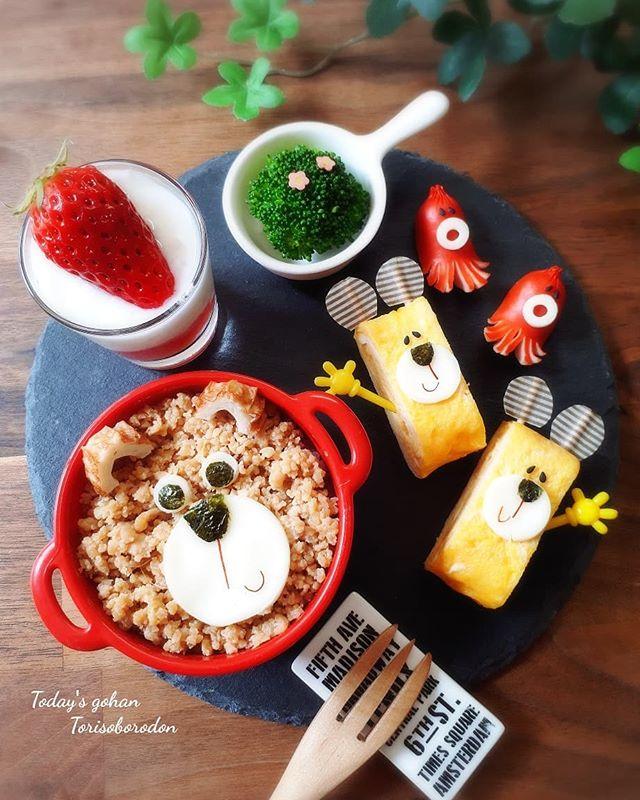 タッパーのお弁当でおしゃれなレシピ☆主食4
