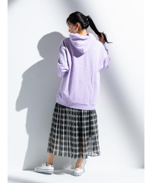 [E hyphen world gallery] 【別注】FRUIT OF THE LOOM パーカー*●