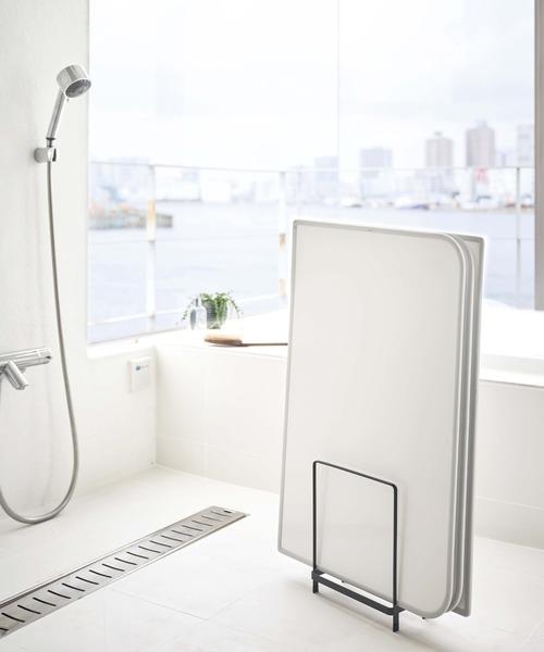 置き型の風呂蓋スタンド