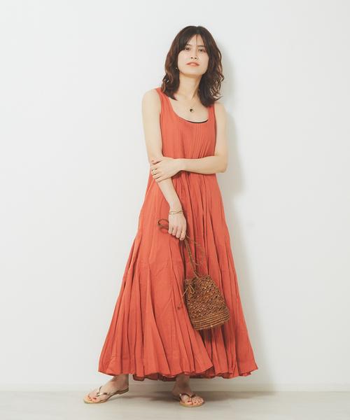 [Rouge vif la cle] MARIHA 海の月影のドレス