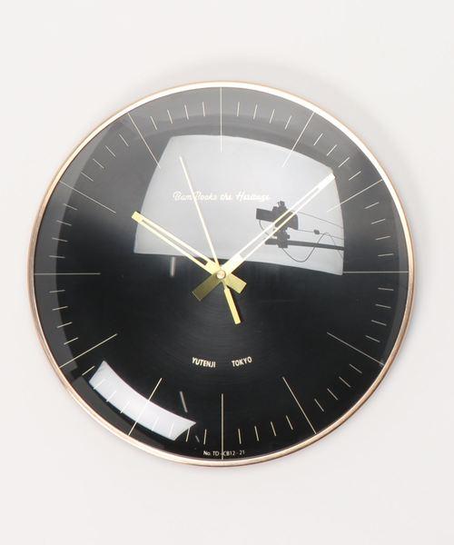 70年代風のおしゃれな壁掛け時計