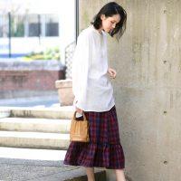 スカートでレディライクに♡30代アラサー女性のデイリーコーデ