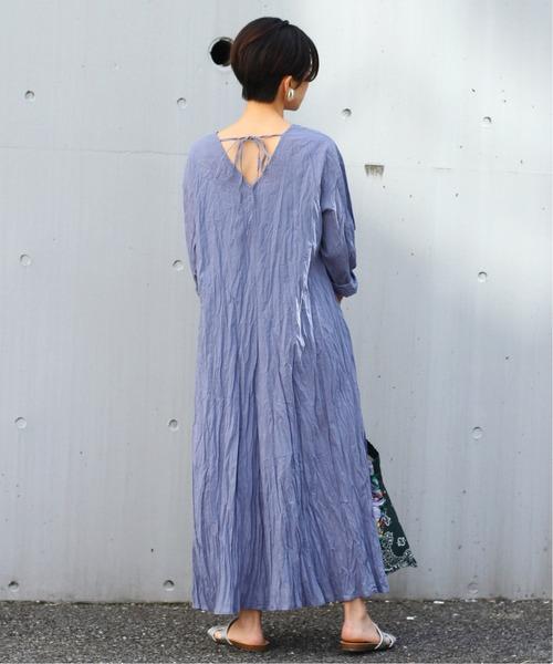 【11月上旬服装】ワンピースで大人フェミニンコーデ
