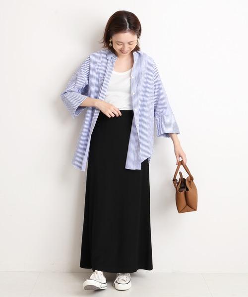 【11月中旬服装】シャツでメンズライクコーデ