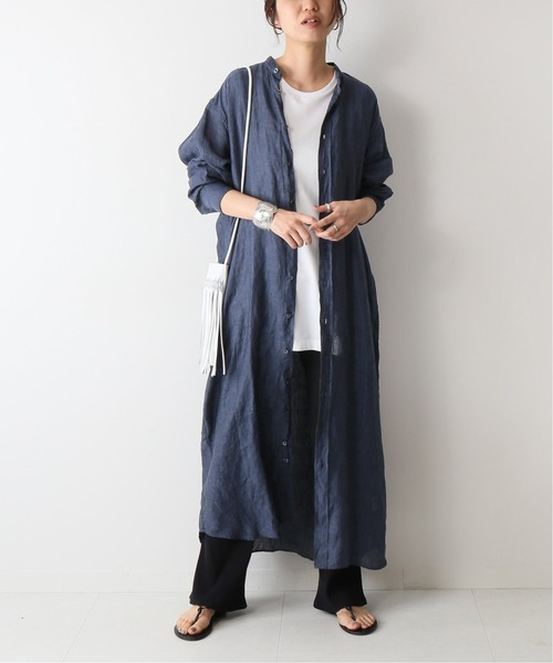 [Spick & Span] 【INDIVIDUALIZED SHIRTS】 W-POCKET LONG ONEP