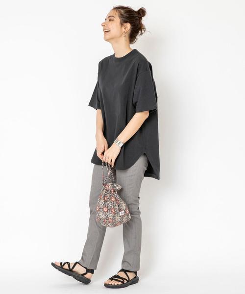 [coen] 【WEB限定】天竺ラウンドTシャツ#